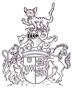 Pennington family arms. Families of the World ~ The Universal Compendium