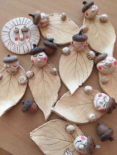 Art Nature, Pottery Mugs, Angels, Clay, Ceramics, Shapes, Christmas Ornaments, Holiday Decor, Atelier