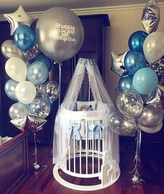 Ideas Welcome Home Decorations Ideas Party Diy Baby Shower Decorations, Welcome Home Decorations, Balloon Decorations, Welcome Home Baby, Welcome Baby Boys, Baby Shower Parties, Baby Boy Shower, Baby Shower Gifts, Party Themes For Boys