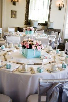 Decoração Azul Tiffany   Mini casamento – Decoração de eventos – Curitiba