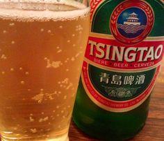 やっぱ中華にはコレ!青島ビール。