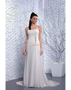 A-line Elégant & Luxueux Automne Robes de mariée 2014