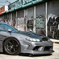 Mean in the streets, Nissan Silvia Nissan S15, Silvia S15, Nissan Silvia, Import Cars, Japan Cars, Car In The World, Jdm Cars, Japanese Beauty, Cool Cars