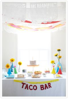 adorable fiesta themed first birthday party for the son of Jillian of 100 Layer Cake party blog, cake by created by Hotcakes Bakes  photographed by Scott Clark Photography