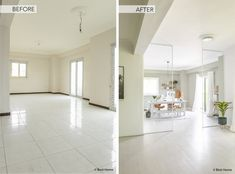 Home Renovation before and after Our Cairo Home home office ©BintiHome