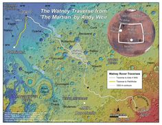 The Martian Andy Weir. The Watney Traverse