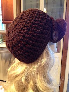 Expresso Brown Newsboy Cap on Etsy, $35.00