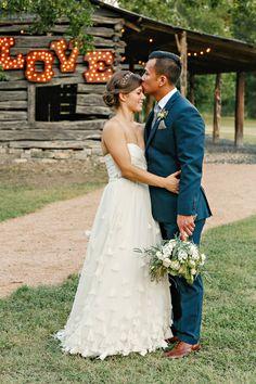christine + zuy   Wedding Gown from @BHLDN   katherine o'brien photography   #BHLDNbride
