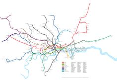 London tube actual layout