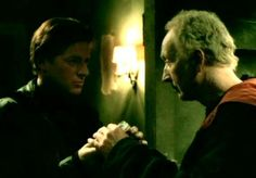 Costas Mandylor and Tobin Bell -hey,twice the Prince Charming!:-D