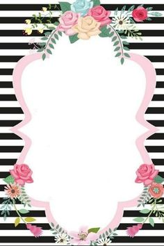 Pretty Phone Wallpaper, Flower Phone Wallpaper, Bear Wallpaper, Iphone Wallpaper, Borders For Paper, Borders And Frames, Flower Backgrounds, Wallpaper Backgrounds, Wallpapers
