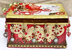 Blingy Gift Box -ZVA Creative - Scrapbook.com