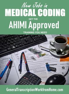 New Jobs in Medical Coding. How to Get the Medical Coding Training You Need to Get AHIMA Approved and Get Medical Coding Jobs. Medical Coding Training, Medical Coder, Medical Billing And Coding, Medical Careers, Pharmacy Assistant, Transcription Jobs For Beginners, Make Money Online, How To Make Money, Best Online Jobs