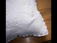 Tutoriel Boutis : Point de Vauvert - Embroidery tutorial - http://www.youtube.com/watch?v=unEP8Ygm73g