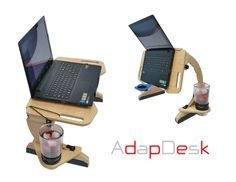A portable desk designed for the growing need to comfortably use a laptop or device in bed, couch, floor, and much more.