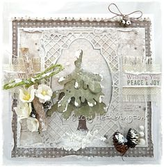Live & Love Crafts' Inspiration and Challenge Blog: Oh Christmas Tree
