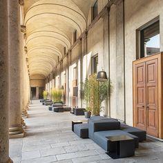 Extra Wall design Piero Lissoni Outdoor Living, Outdoor Decor, Corridor, Wall Design, Exterior, Patio, Interior Design, Furniture, Home Decor