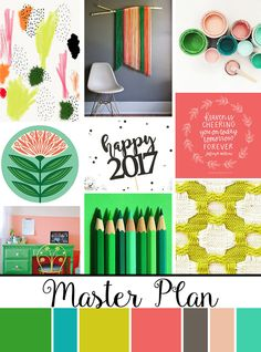 January Artist Mood Board & New Releases: Master Plan - Illustrated Faith - Illustrated Faith