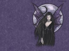 Moon Fairy | Free Dark Moon Fairy Wallpaper - Download The Free Dark Moon Fairy ...