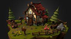 Fantasy House by mubashar