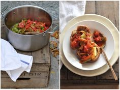 {a little hungarian} Lecsó Stew: cooking with love + paprika Ratatouille, Hungary, Stew, Postcards, Cooking Recipes, Stuffed Peppers, Ethnic Recipes, Food, Baking Recipes