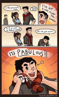 The Legend of Korra: PABULOUS