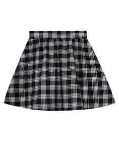 #chicnova   36 Retro Mini Checks High Waist Skirt - Clothing