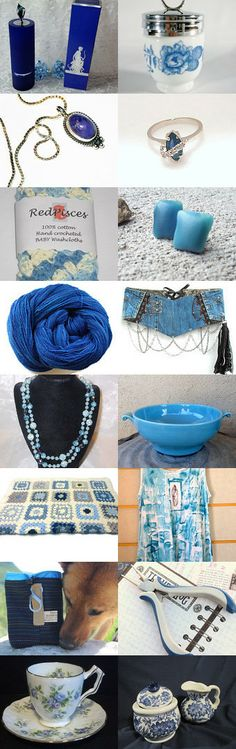 Blues to Cool by RedPisces ByJennifer on Etsy--Pinned with TreasuryPin.com