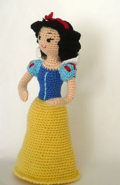 Free Crochet Pattern For Snow White Dress : snow white!!!!!