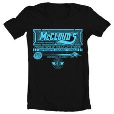Men's Star Fox McCloud Tee - Geek - Gift idea for him - Women's sizes also available