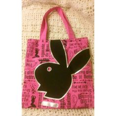 Playboy shoulder bag Playboy pink shoulder bag in good conditions some pen ink in the inside but can be remove by washing it beautiful bag to put alot of stuff in . playboy Bags Shoulder Bags