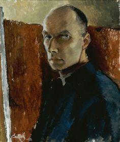 Alvar Cawén (Finnish, 1886-1935), Self-portrait, 1923. Oil on canvas, 55 x 46 cm.