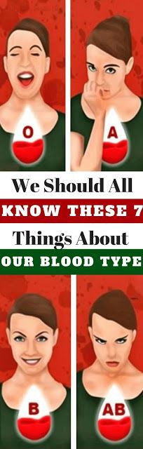 Human blood is grouped into 4 different blood types: A, B, AB, and O. Our blood type group is determined from birth. Experts explain that each blood group has different characteristics. Blood type and nutrition During Healthier You, How To Stay Healthy, Different Blood Types, Health Tips, Health Care, Health Facts, Cleaning Your Ears, Blood Type Diet, Ear Wax