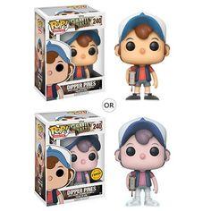 Gravity Falls Dipper Pines Pop! Vinyl Figure - Funko - Gravity Falls - Pop! Vinyl Figures at Entertainment Earth