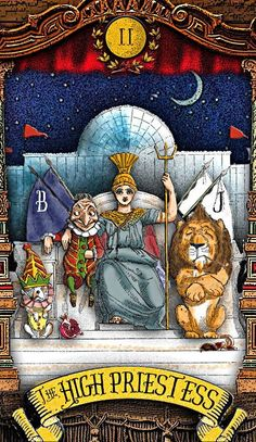 The Tarot of Mister Punch: The High Priestess