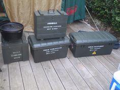 キャンプ道具の収納ケース ミリタリ #camp #dutchoven #ミリタリ #military