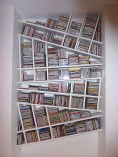Création JFCabot : Range CD décoratif ...