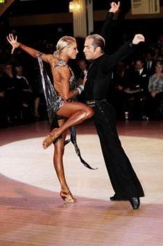 Yulia Zagoruychenko and Richard Cocchi