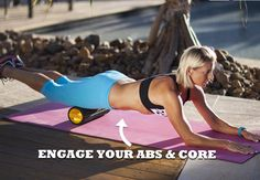 Foam roller for abs and core - PICTURE - Women's Health & Fitness