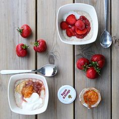 Our Fiordifrutta jams go perfectly with oatmeal & summer fruits! Thanks…