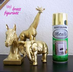 {DIY} Brass Figurines