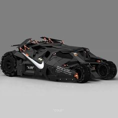 Jeff Cole / Off-White for Nike Nike Air VaporMax / Batmobile / 2017 Futuristic Motorcycle, Futuristic Cars, Image Swag, Best Luxury Cars, Victorias Secret Models, Expensive Cars, Batmobile, Armored Vehicles, Nike Air Vapormax