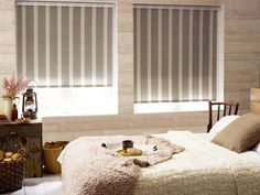 Dormitor calduros pentru zilele reci de iarna. Roletele Prestige pot face acest dormitor sa fie muuult mai placut http://jaluzeleprestige.ro/index.php?p=jaluzele-interior&t=textile