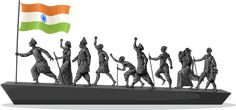 History of India from Pre Historic Era to Freedom Struggle and Independence of India Independence Day Drawing, India Independence, Indian Government, British Government, History Of India, Ancient History, National Front, National Days, Martyrs' Day