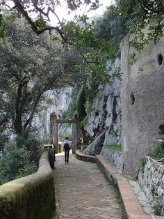 Anacapri, Italy - Villa San Michele