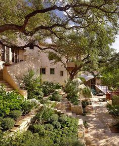"""""""Scenic mediterranean landscape,"""" Austin. Root Design www.company.com.:"""