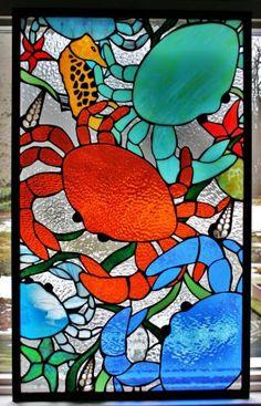 Stained Glass Window by SingularArt Making Stained Glass, Faux Stained Glass, Stained Glass Designs, Stained Glass Panels, Stained Glass Projects, Stained Glass Patterns, Leaded Glass, Glass Door, Mosaic Art