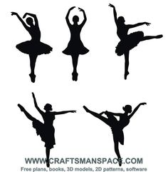 Ballerina silhouettes - Maybe I could trace with melted chocolate to make cupcake toppers? Ballerina Silhouette, Silhouette Cameo, Silhouette Vector, Silhouette Projects, Silhouette Pictures, Girl Silhouette, Ballet Cakes, Ballerina Cakes, Ballerina Birthday