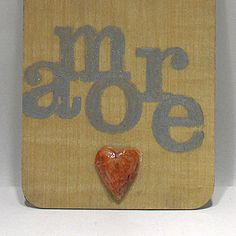 Amore  Love and Nothing Else  Eco Love Note  by FoundARTvision, $13.00
