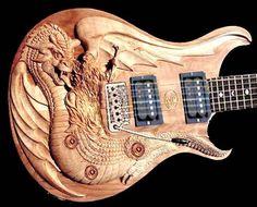 Top 60 des guitares au design original, et original ça veut quand même souvent dire moche